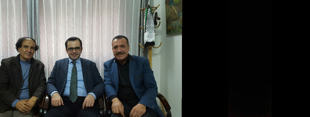وزير الثقافة الفلسطيني يلتقي ويثمن دور ادارة مهرجان القدس السينمائي الدولي