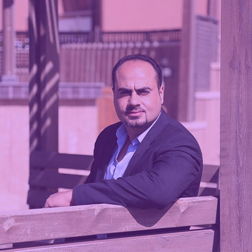 المخرج معمر أبو طبيخ